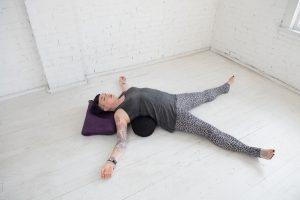 Yin Yoga Starfish Pose - Nyk Danu